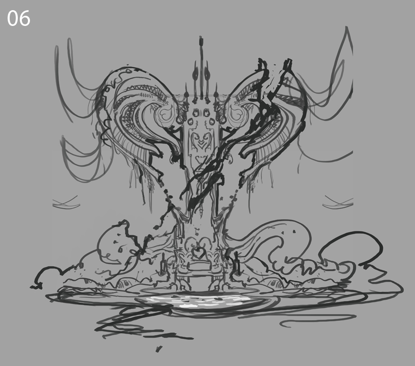 The Throne ( Alice: Madness Returns //Spicy Horse Art Test